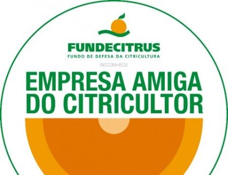 """Fundecitrus lança selo """"Empresa Amiga do Citricultor"""""""