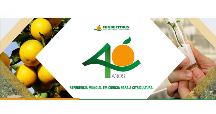Fundecitrus comemora 40 anos neste 16 de setembro de 2017
