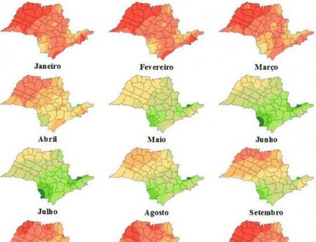 Pesquisa mostra regiões do país e épocas do ano mais favoráveis ao cancro cítrico