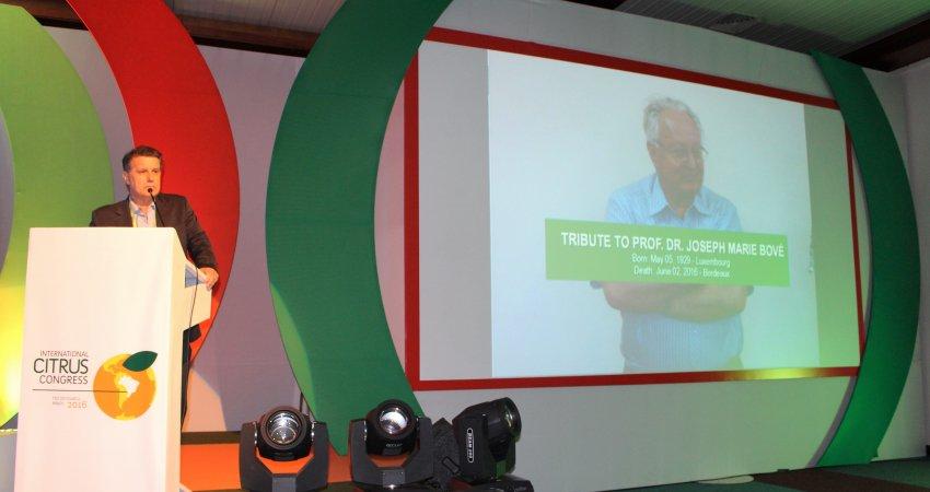 Workshops sobre HLB, mudanças climáticas e genética movimentam Congresso Internacional