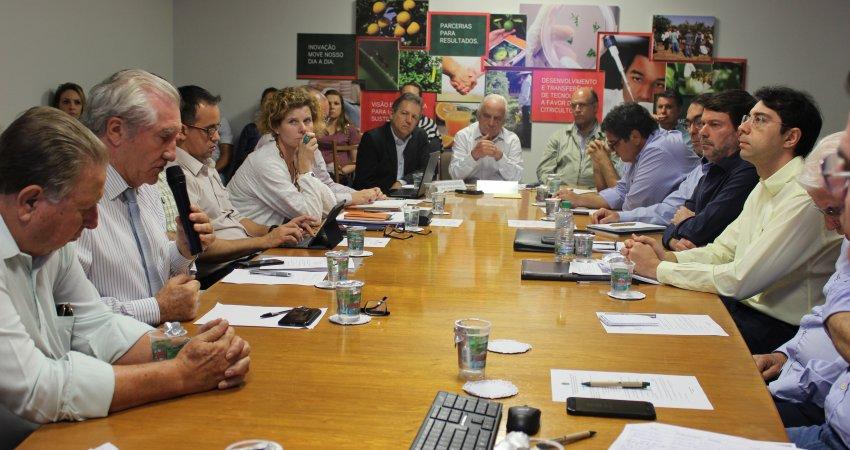 Reunião da Câmara Setorial da Citricultura debate adaptações na nova lei do cancro cítrico