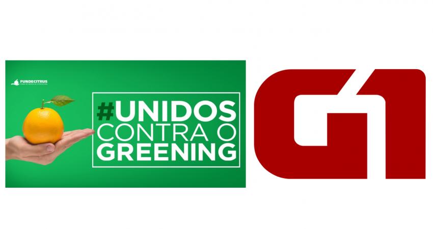 Fundecitrus lança especial publicitário sobre a campanha #unidoscontraogreening no portal G1
