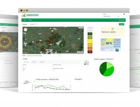 Fundecitrus lança nova versão do sistema de Alerta Fitossanitário