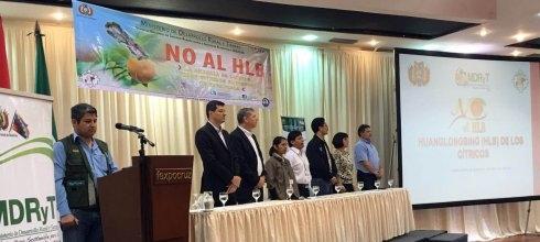 Bolívia promove seminário para prevenir a entrada de HLB no país