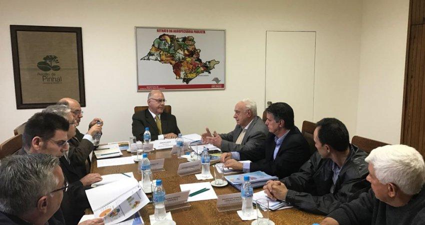 Ações para incentivar o controle do greening pautaram primeira reunião do grupo de trabalho de combate à doença